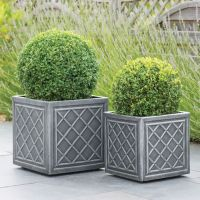 Stewart Lead Effect Decorative Planter - 2 size options
