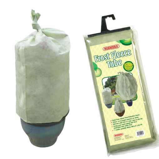Bosmere Fleece Tube Plant Frost Protection Fabric 5m - 3 width options