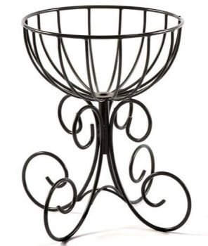 Tom Chambers Large Urn Metal Garden Planter - with Liner