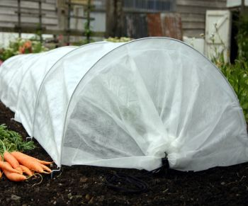 Haxnicks Easy Fleece Plant Frost Protection Grow Tunnel 3m long