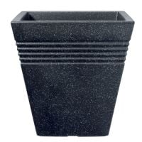 Stewart Piazza Decorative Plastic Planter Granite Effect  - 2 sizes