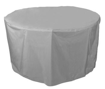 Bosmere Circular Round Table Cover 4 - 6 Seat Thunder Grey U545