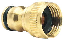 Draper Expert Brass BSP Tap Connector - 1/2'' 68429