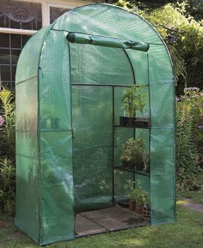 Gardman Compact Walk-in Grow Arc Reinforced Greenhouse