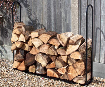 Garland Metal 1m Garden Log Store