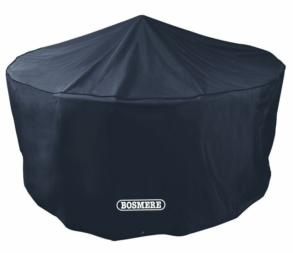 Bosmere Quality Large Circular Black Patio Set 4 to 6 Seat Cover D520