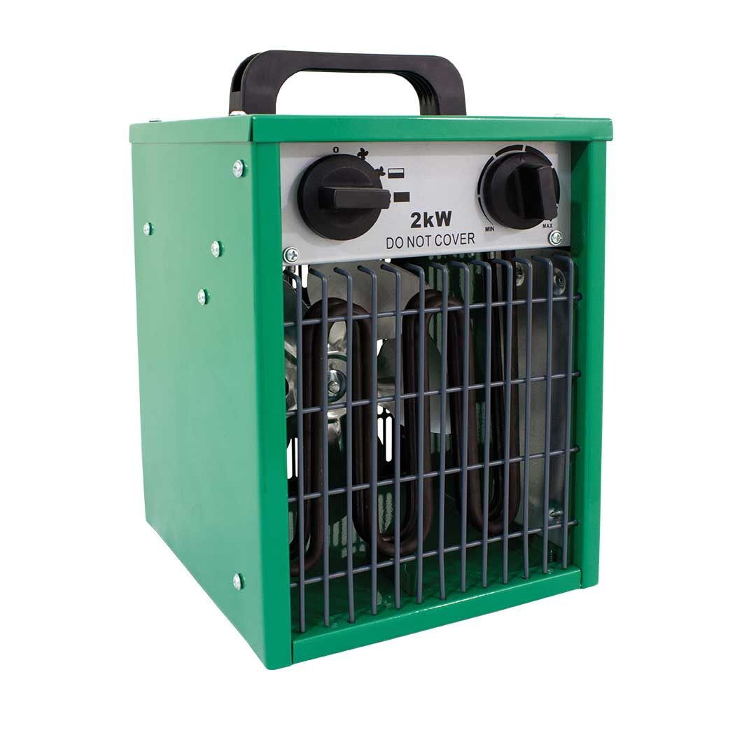 Lighthouse ECOHEAT Electric Greenhouse Heater Fan 2Kw