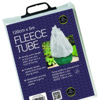 Garland Fleece Tube Plant Frost Protection Fabric Cover 120cm W x 5m L