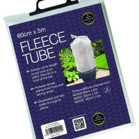 Garland Fleece Tube Plant Frost Protection Fabric Cover 60cm W x 5m L