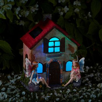 Smart Solar Fairies Only! Garden Solar Lighting Ornament