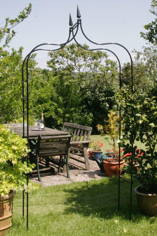 Tildenet Gothic Metal Garden Rose Arch