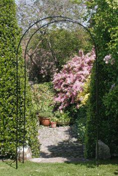 Tildenet Round Metal Garden Arch 2.47m High