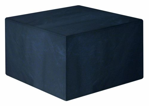 Garland Modular Rattan 4 Seat Seater Small Cube Set Cover Black