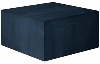Garland Modular Rattan 4 Seater Large Cube Set Cover Black W1638