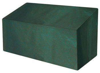 Garland Premium 3 Seat Garden Bench Cover - Polyester Green W3492