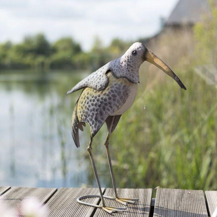 La Hacienda Tenby Shore Bird Metal Garden Animal Ornament
