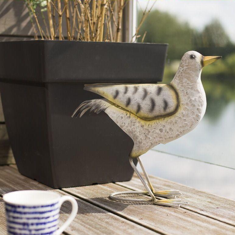 La Hacienda Cromer Shore Bird Metal Garden Animal Patio Ornament