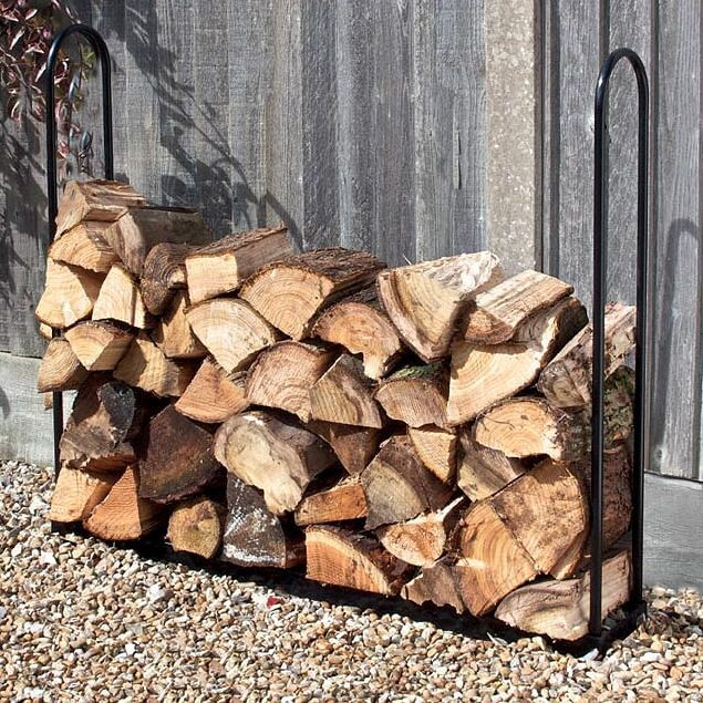 <!-- 017 -->Log Stores & Wooden Garden Furniture