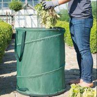 Gardman Jumbo Size Pop Up Hard Base Garden Waste Rubbish Tidy Bin