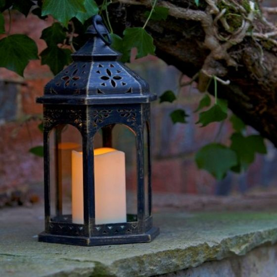 Smart Garden Moroccan Lantern - Battery Operated Garden Light