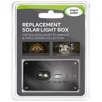 Smart Solar Replacement Solar Panel Light Box for Solar Animals