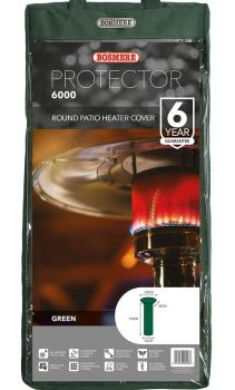 Bosmere Patio Heater Waterproof Cover - Green Polyester C745