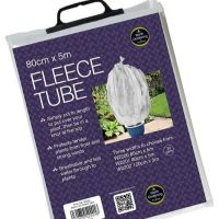 Garland Fleece Tube Plant Frost Protection Fabric Cover 80cm W x 5m L