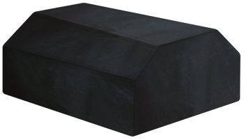Garland 6 Seater Picnic Table Cover Heavy Duty Polyester Black W1504