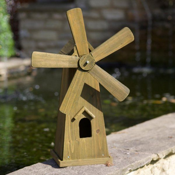 Smart Garden Woodland Windmill Garden Ornament