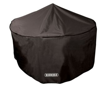 Bosmere 6 to 8 Seat Circular Round Patio Set Cover Black D523