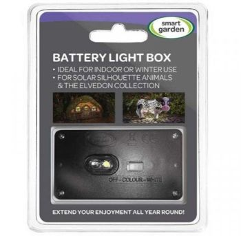 Smart Garden Battery Light Box for Silhouette Animals