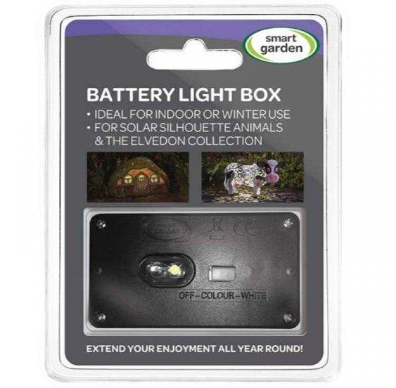 Smart Garden Battery Light Box for Silhouette Animals