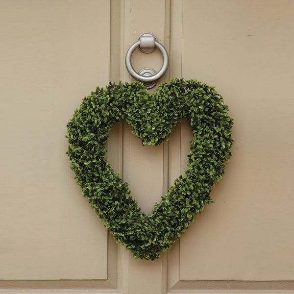 Smart Garden Topiary Heart Boxwood Effect