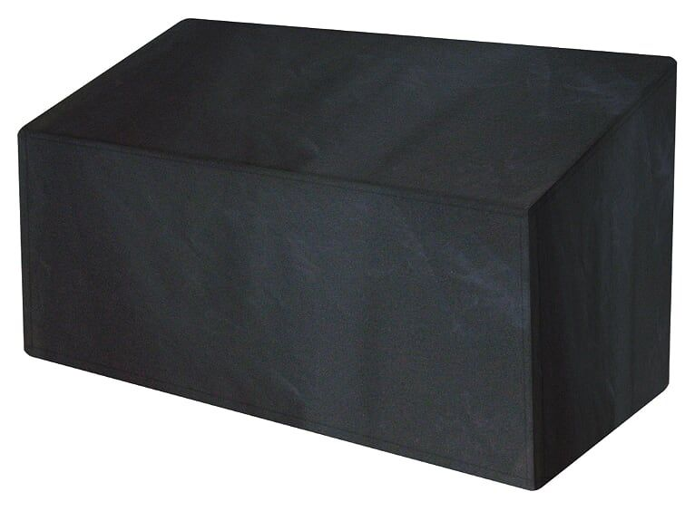 Garland Premium 3 Seat Bench Polyester Cover Black W1492