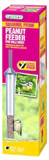 Gardman Squirrel Proof Garden Bird Feeder - Peanut Feeder
