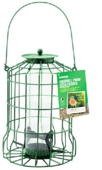 Gardman Squirrel Proof Seed Feeder A01620