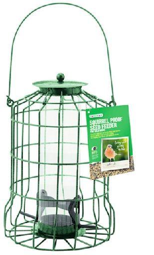 Gardman Squirrel Proof Seed Feeder A01620