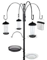 Gardman Complete Wild Bird Feeding Station Black - 2.26m High