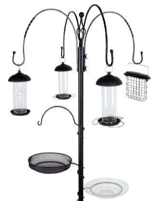 Gardman Complete Wild Bird Feeding Station Black A04391