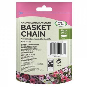 """Smart Garden HD Hanging Basket 4 Way Chain for up to 18"""" Baskets"""