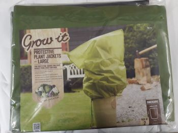 Gardman Large Fleece Plant Frost Protection Jackets x 2