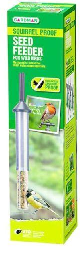 Gardman Squirrel Proof Garden Bird Seed Feeder