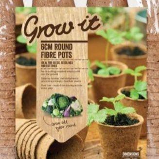 Fibre Plant & Seed Pots