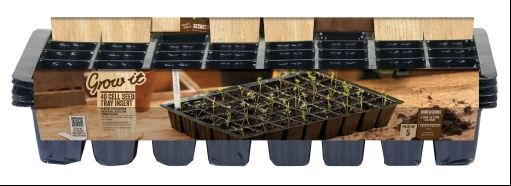 Gardman 5 x 40 Cell Inserts for Standard Seed Tray Propagator