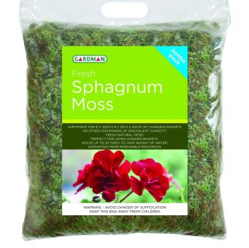 Gardman Sphagnum Moss for planters & baskets - Jumbo