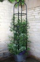 Smart Garden York Metal Garden Obelisk 2.2m