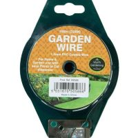 Garland 100m General Purpose Garden Wire 1.2mm PVC Coated W0586