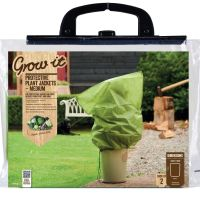 Gardman Medium Fleece Plant Frost Protection Jackets x 3