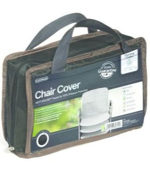 Gardman Premium Stacking Chair Cover - Polyester Black 35695