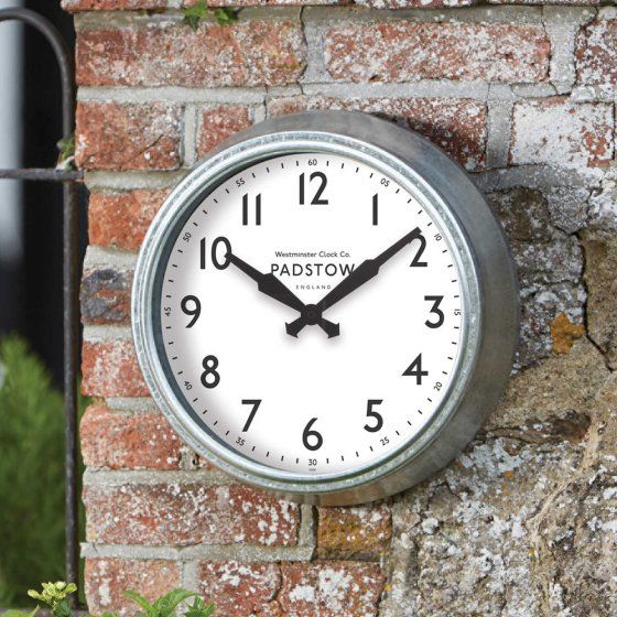 Smart Garden Padstow Metal Garden Wall Clock 15''